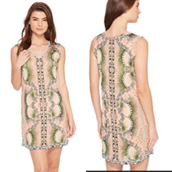21cf2a0ec29  Nicole Miller Beaded Coverup Dress